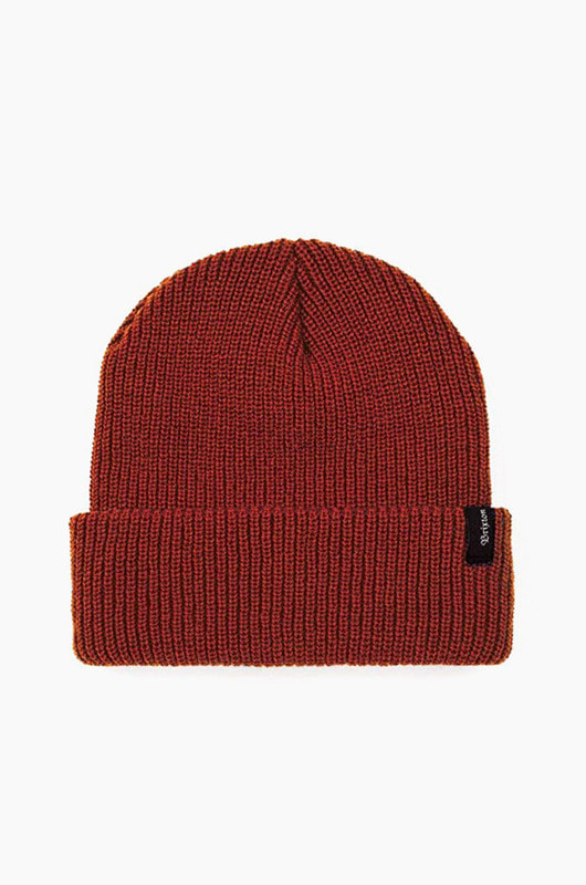 BRIXTON Heist Beanie Red/Orange