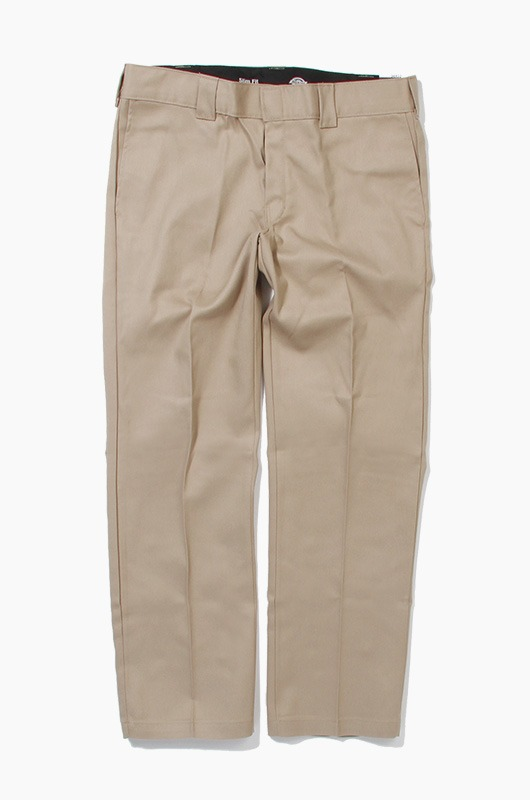 DICKIES 873 Slim Flex Pants Khaki