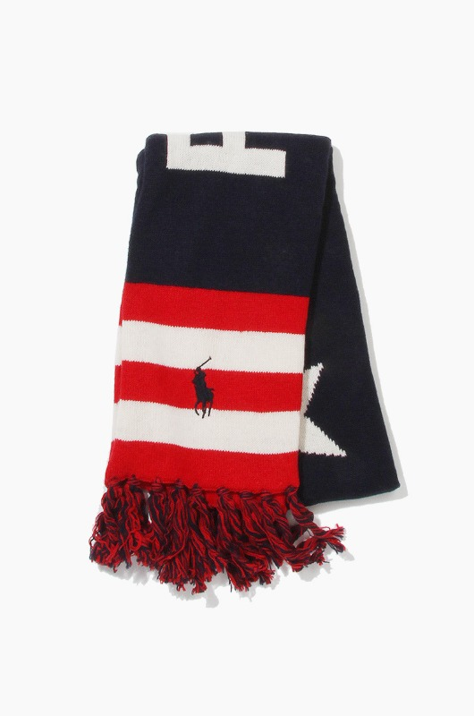 POLO USA Stadium Scarf Navy