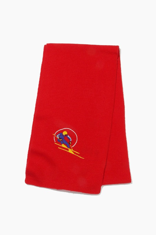 POLO Retro Skier Scarf Red