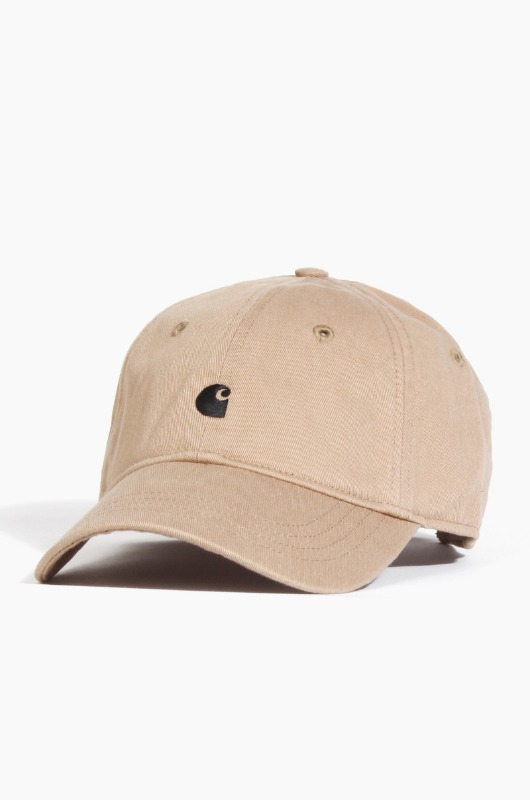 CARHARTT-WIP Madison Logo Cap Leather/Black