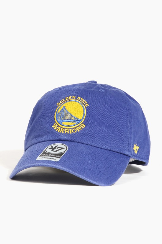 47BRAND NBA Clean Up Warriors(Royal)