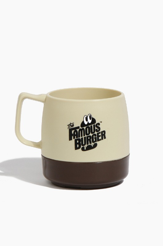 THE FAMOUS BURGER  TFB x Dinex Mug Beige/Chocolate