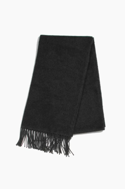 Plain Scarf Chacoal