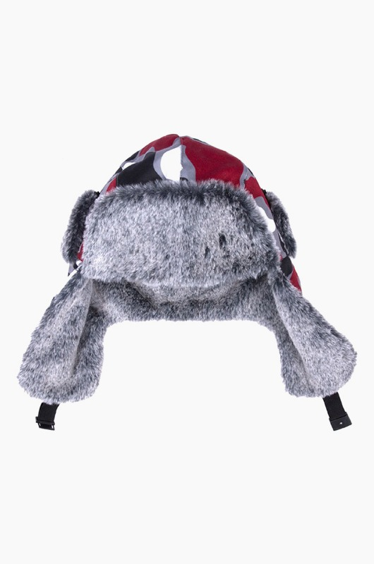 RIPNDIP Nermacamo Aviator Hat Red Camo