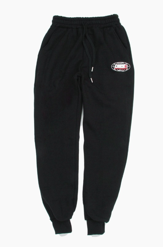 DGS World Scholar Sweat Pants Black
