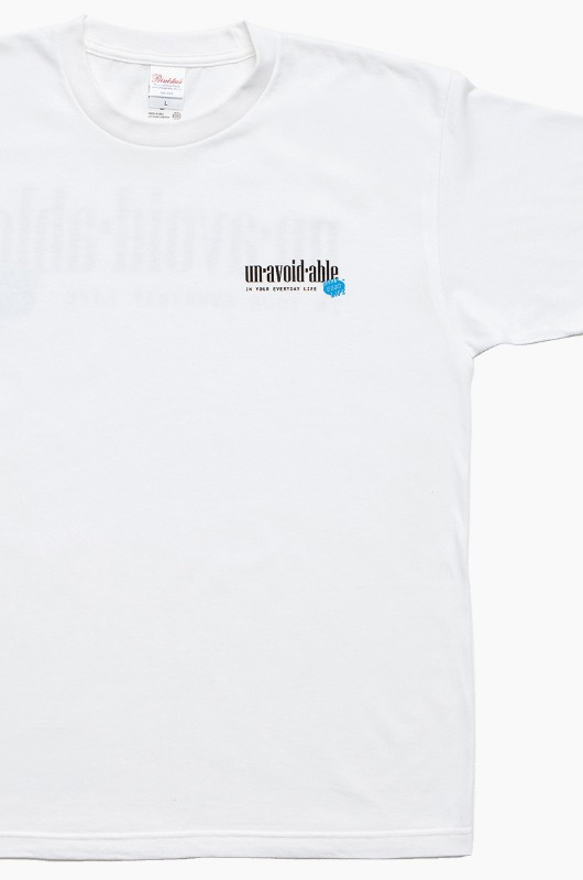 DAMNGOODLIFE Unavoidable S/S White