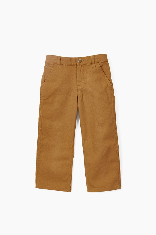 CARHARTT Canvas Dungaree Pants Brown