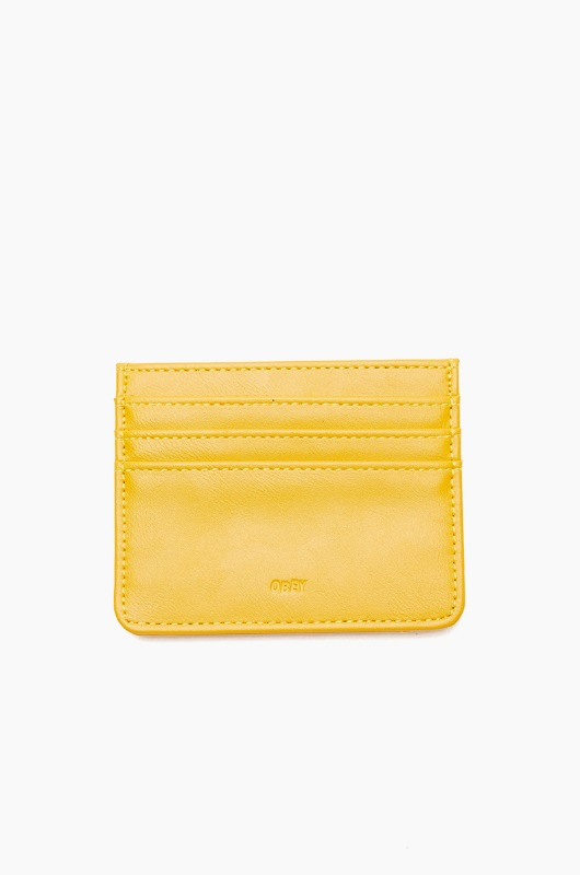 OBEY Gentry Jumble ID Wallet Energy Yellow