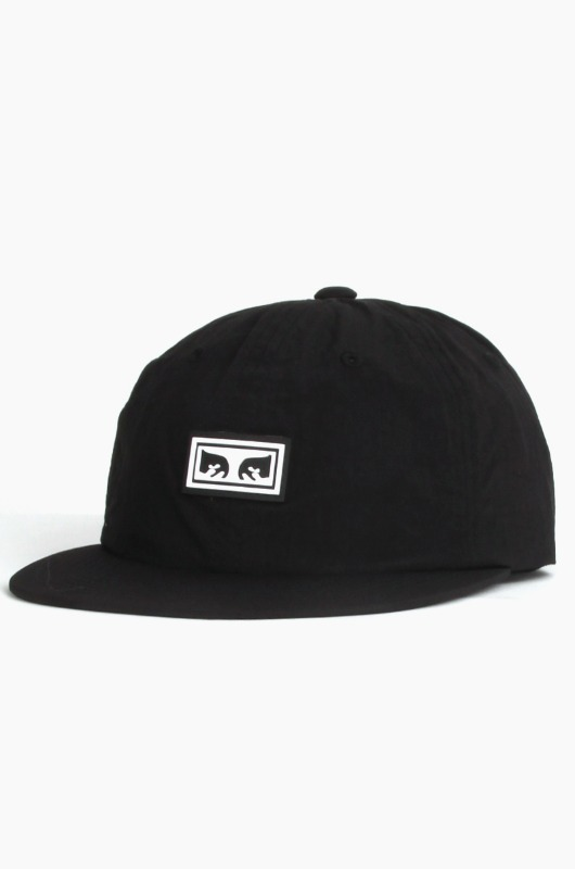 OBEY Alchemy 6 Panel Strapback Black