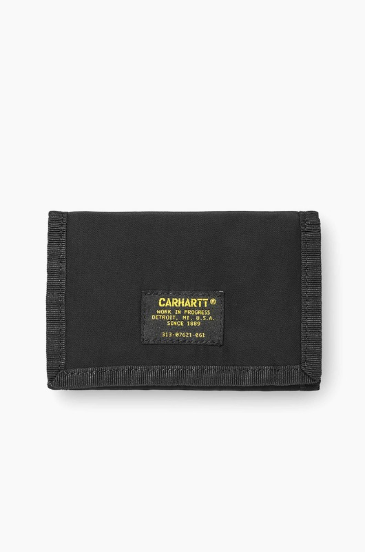 CARHARTT-WIP Ashton Wallet Black