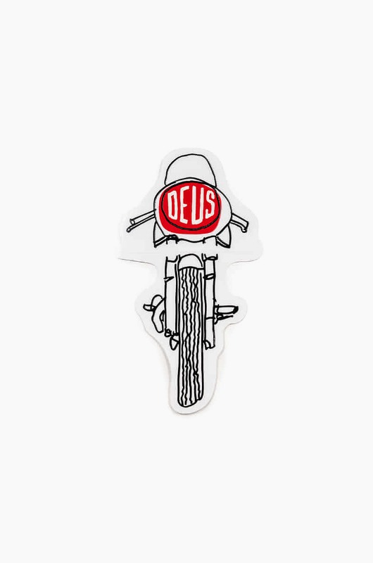 DEUS Vinyl Sticker Frontal Clear