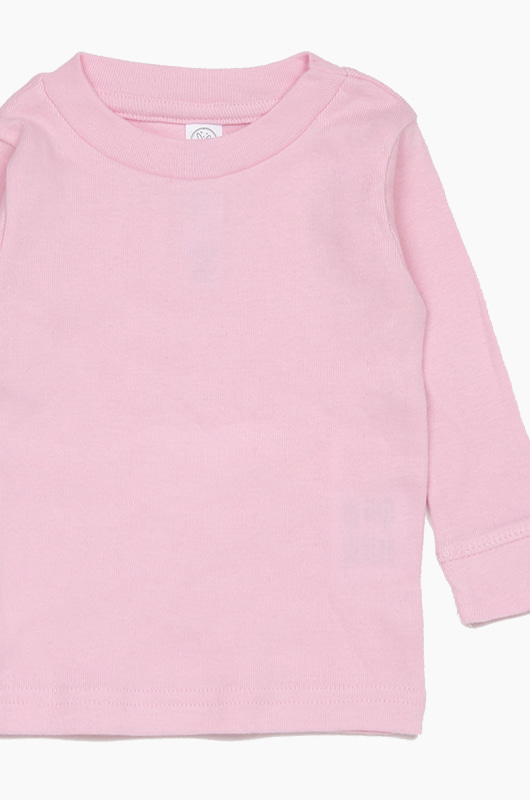 RABBIT SKINS Infant L/S Lt.Pink