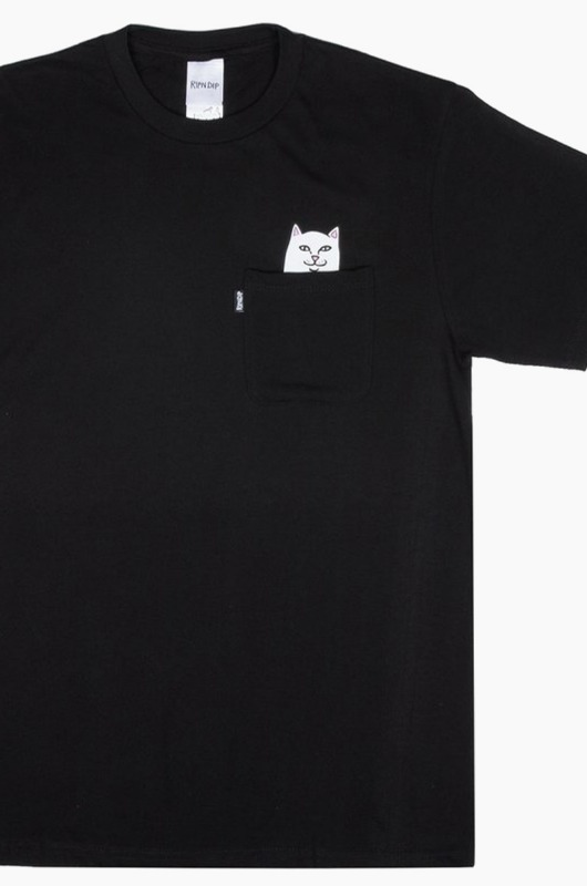 RIPNDIP Lord Nermal Pocket S/S Black