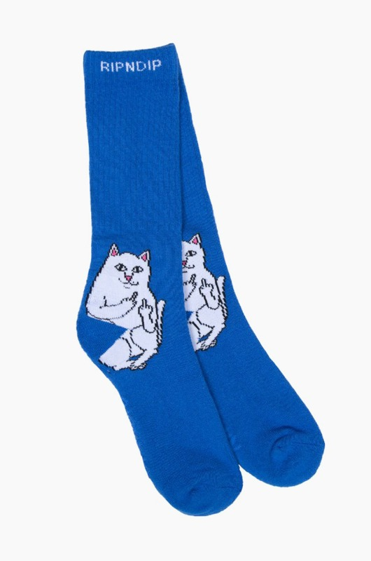 RIPNDIP Lord Nermal Socks Royal