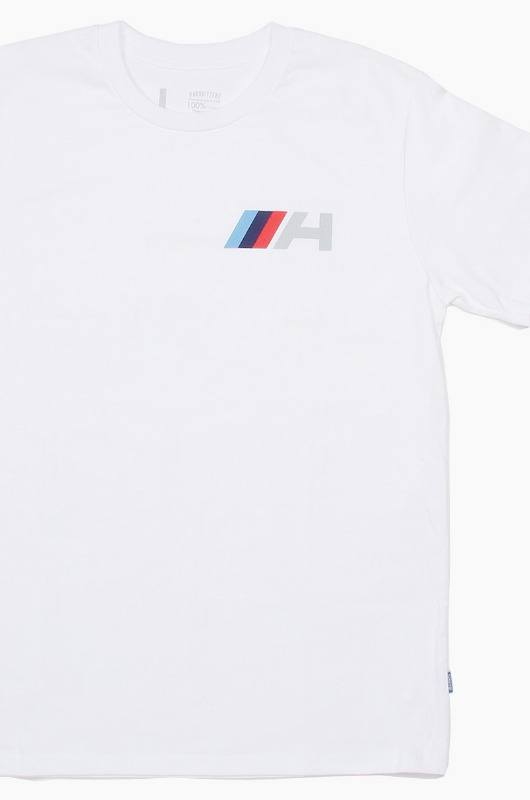HARDHITTERS Multi Color H S/S White