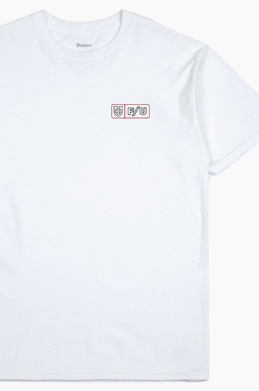 BRIXTON Turnpike S/S White
