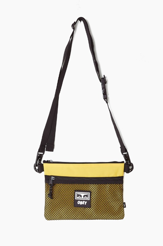 OBEY Conditions Side Bag Energy Yellow