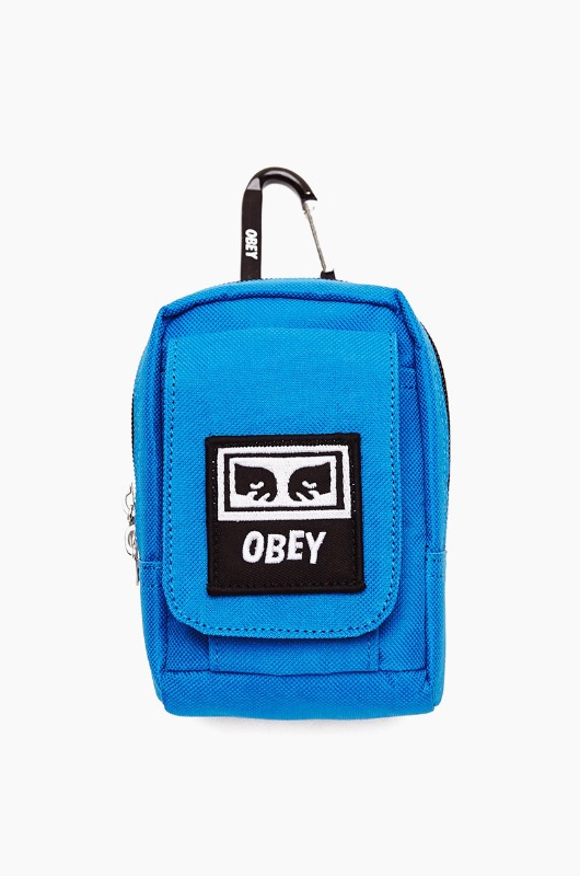 OBEY Drop Out Utility Small Bag Sky Blue