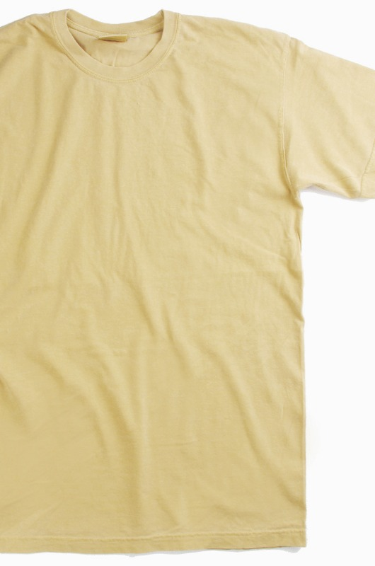 COMFORT COLORS Basic S/S Mustard