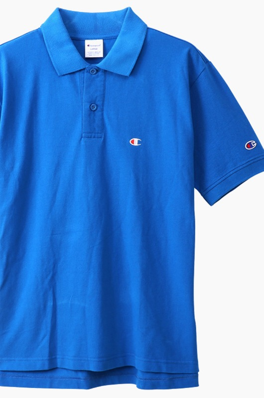 CHAMPION (JAPAN) Polo Shirt (C3-F356) Royal