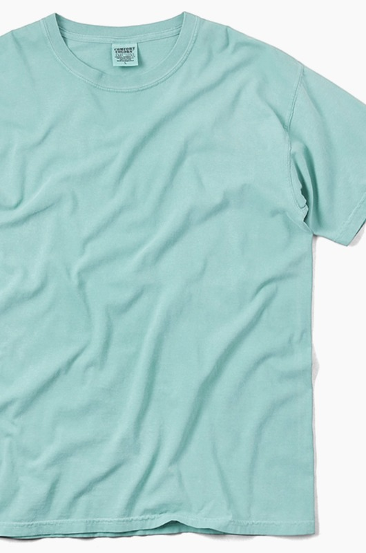 COMFORT COLORS Basic S/S Seafoam