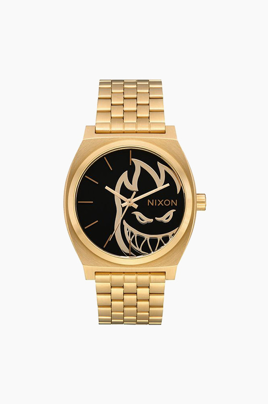 NIXON Time Teller Gold/Fireball