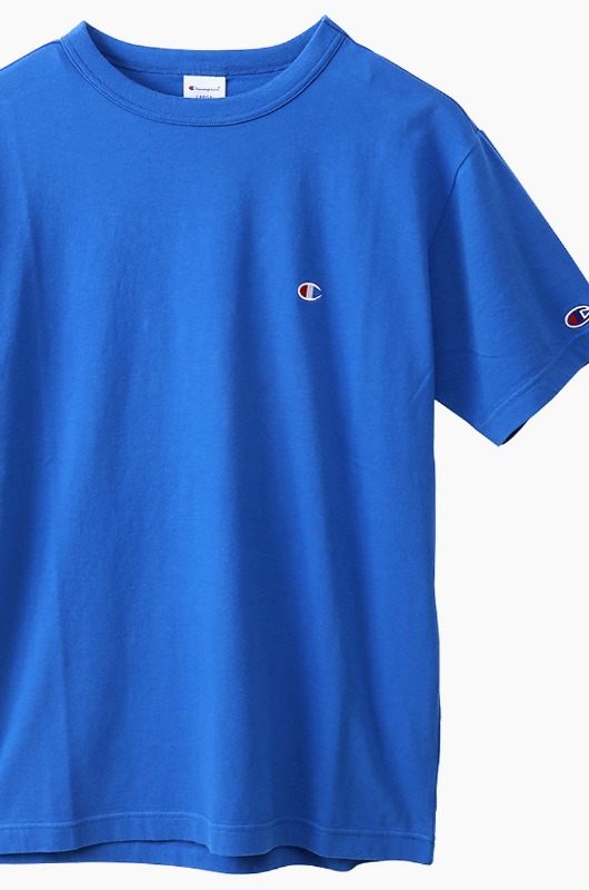 CHAMPION (JAPAN) Basic T-Shirt (C3-H359) Royal