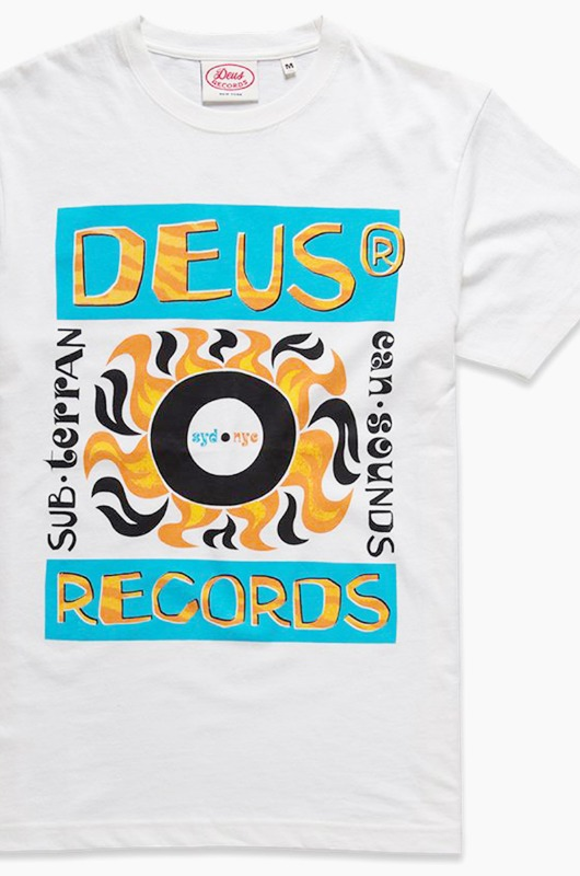 DEUS Pepper S/S Vintage White