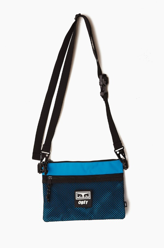 OBEY Conditions Side Bag Pure Teal