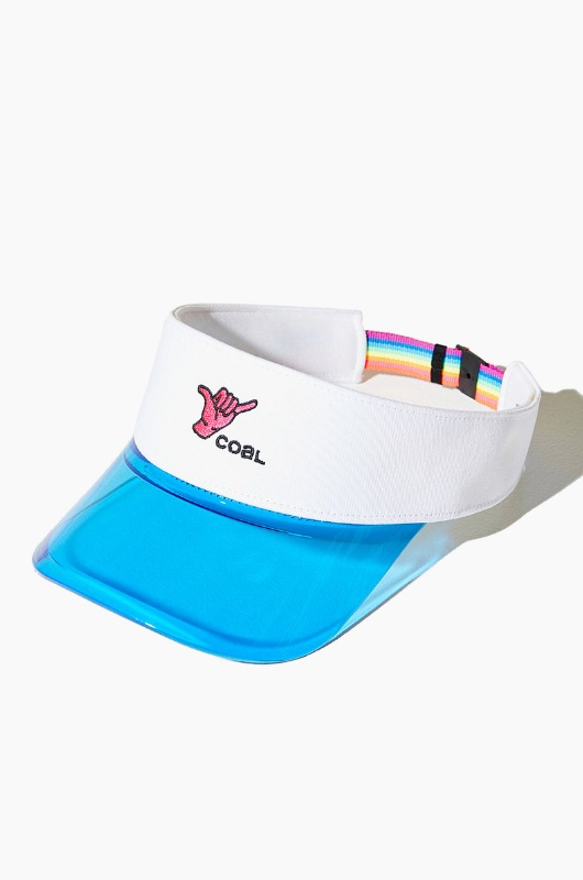 COAL The Sandy Visor White