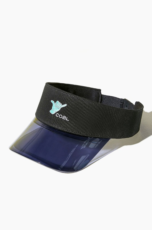 COAL The Sandy Visor Black