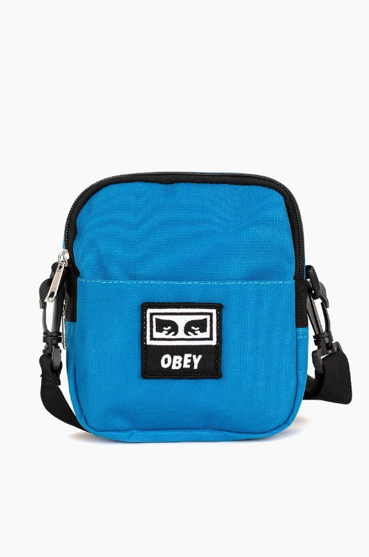 OBEY Drop Out Traveler Bag Sky Blue