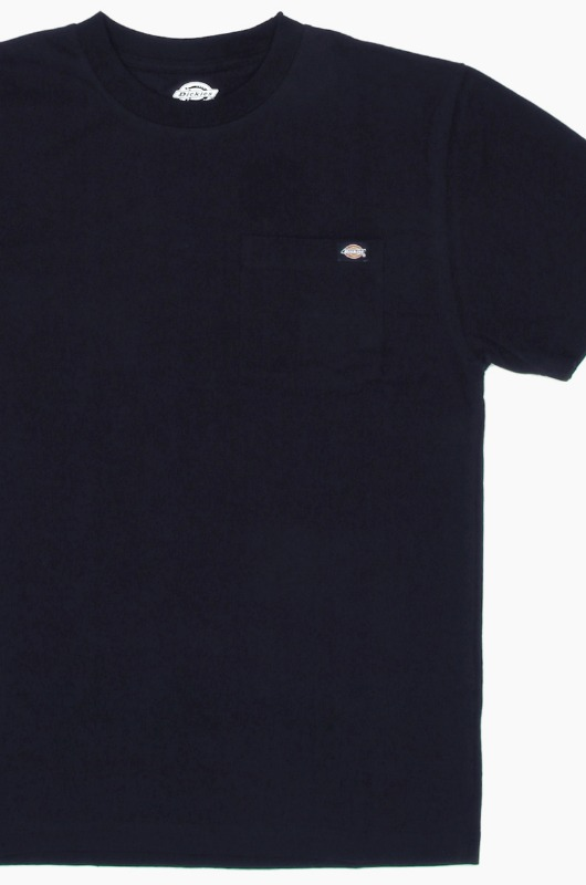 DICKIES WS450 Heavy Crew S/S Navy