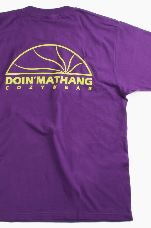 DOIN'MATHANG Half Logo S/S Purple
