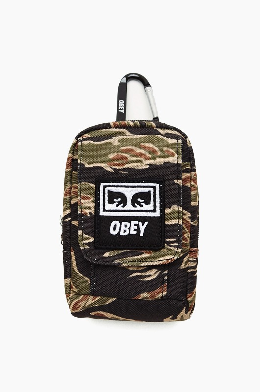 OBEY Drop Out Utility Small Bag Tiger Camo