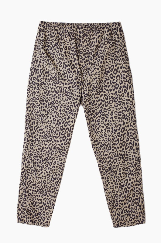 OBEY Easy Pants Khaki Leopard