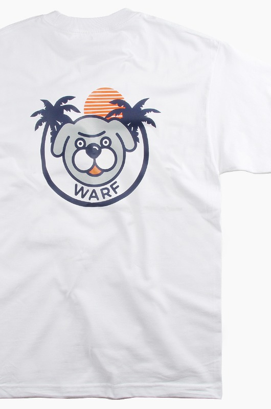 WARF Palm Tree S/S White