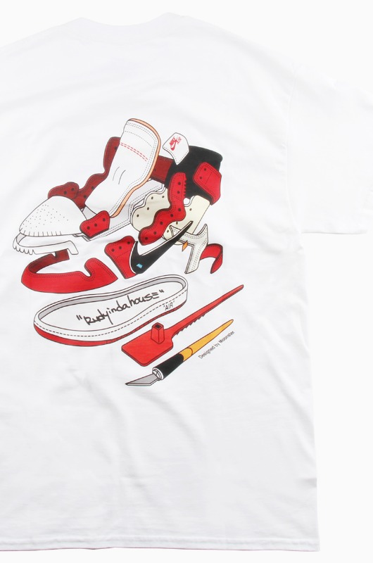 RUDYINDAHOUSE Rudy's Manual S/S Jordan White