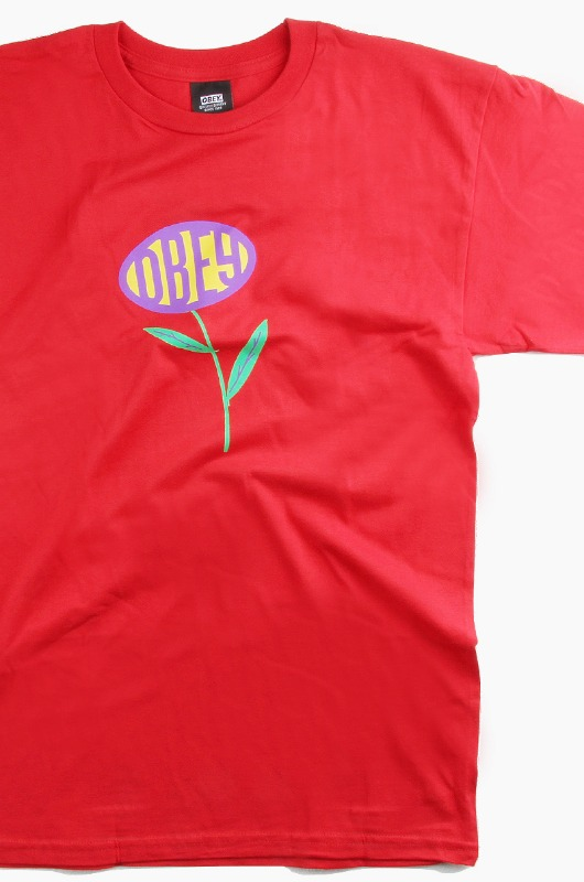 OBEY Lily S/S Red