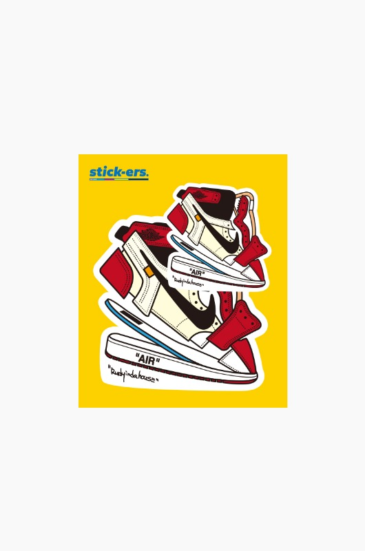 RUDYINDAHOUSE Rudy's Manual Sticker Jordan