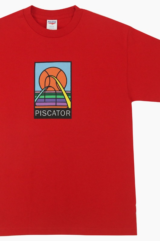 PISCATOR Basketball S/S Red