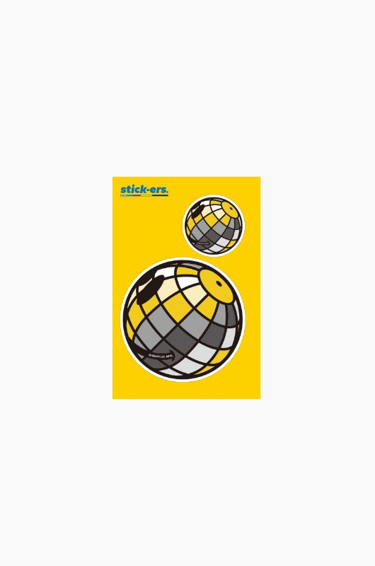 FRESHCUT Disco Ball Sticker Small