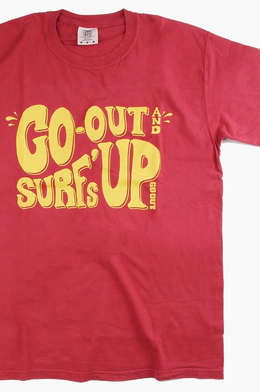 GO OUT Surf's Up S/S Chili Pepper