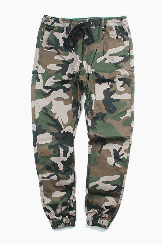 HYPER DENIM Drop Crotch Jogger Camo