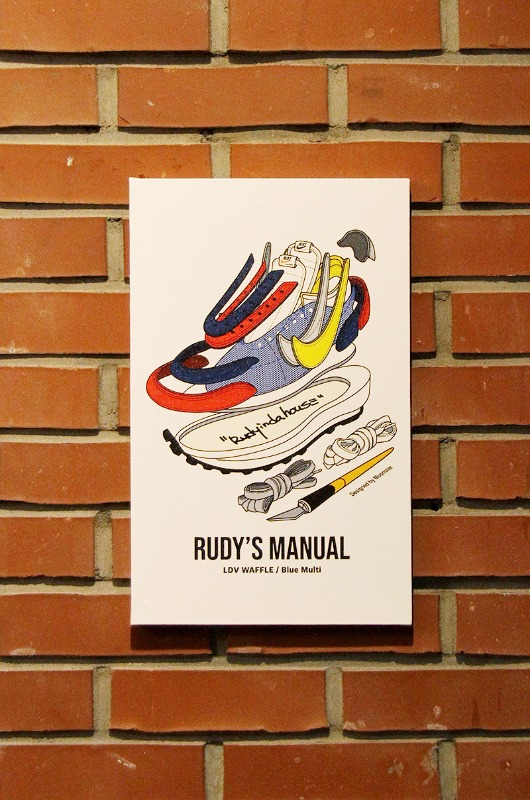 RUDYINDAHOUSE Rudy's Manual Artwork Canvas Sacai 25x40