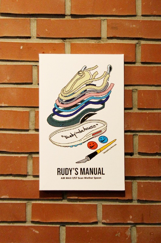 RUDYINDAHOUSE Rudy's Manual Artwork Canvas Max 25x40
