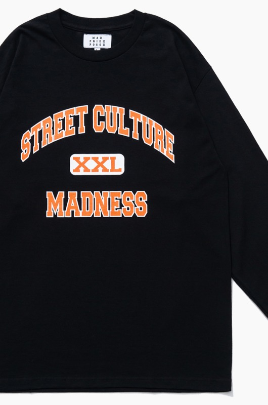 MAD PRIDE POSSE Street Culture Madness L/S Black