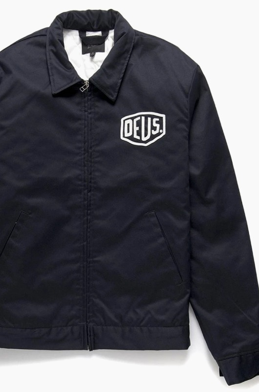 DEUS Workwear Jacket Black