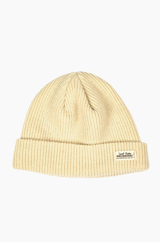 TNP WH Label Watch Cap Cream